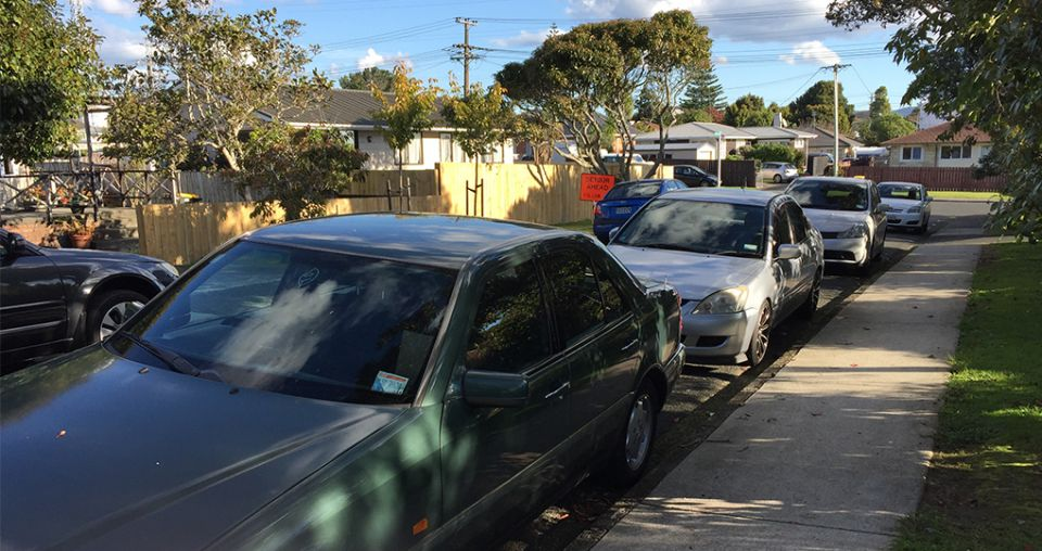 Residents fuming over clogged road