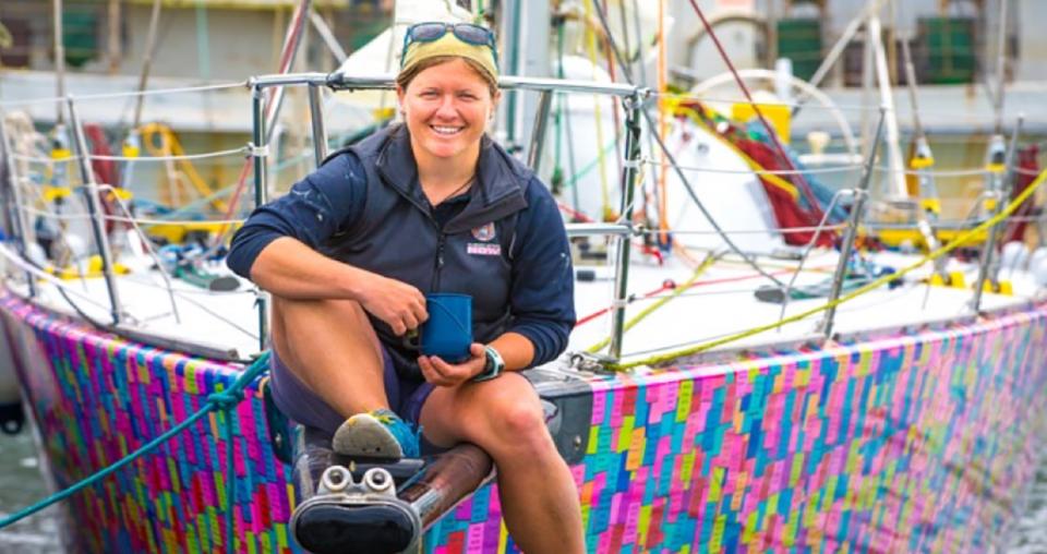 Aussie sailor breaks world record on Antarctica adventure