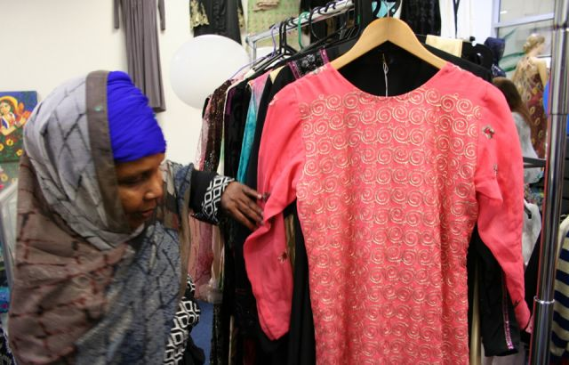 Ethnic clothing store promotes work of refugees