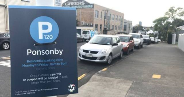 New Ponsonby parking scheme hopes to drive away commuters