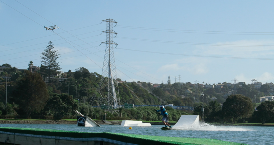 Wakeboarding park makes waves in local community