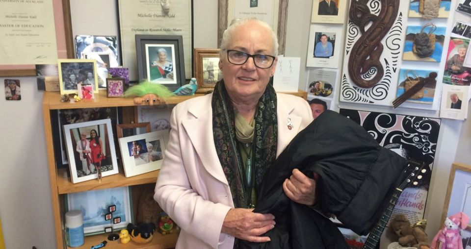 'Mother Teresa' of District Court appeals for drop-off donations