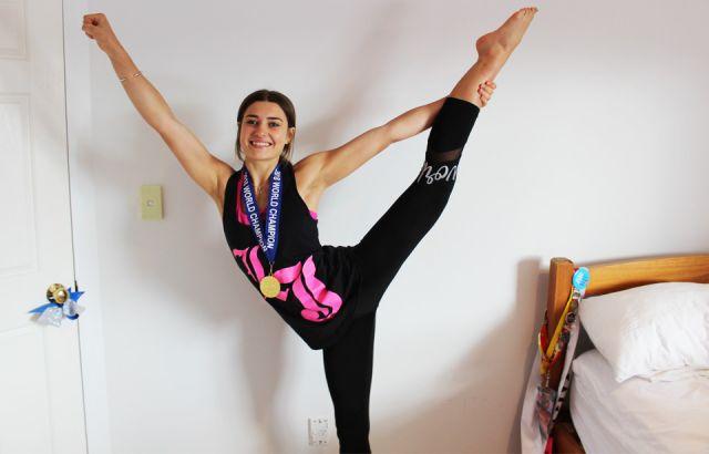 Kiwi cheerleader wins gold at international competition