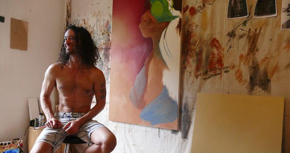 Self-taught painter's stroke of genius