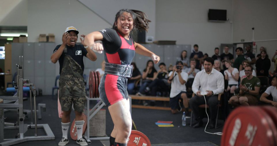 Growing number of women involved in powerlifting