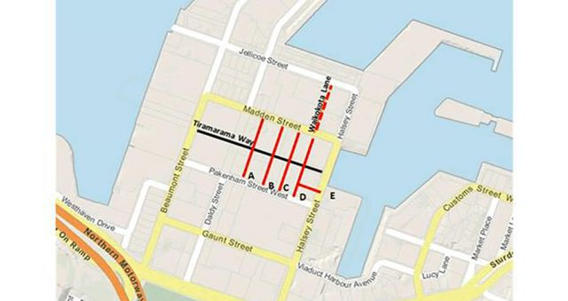 New waterfront lanes will have Māori names